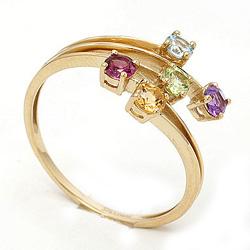 Flot guld ring i 8 karat guld