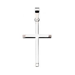 Scrouples kors vedhæng i sølv