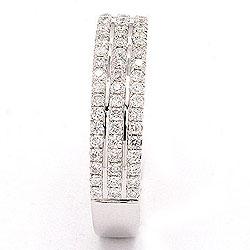 bestillingsvare - diamant ring i 14 karat hvidguld 0,40 ct