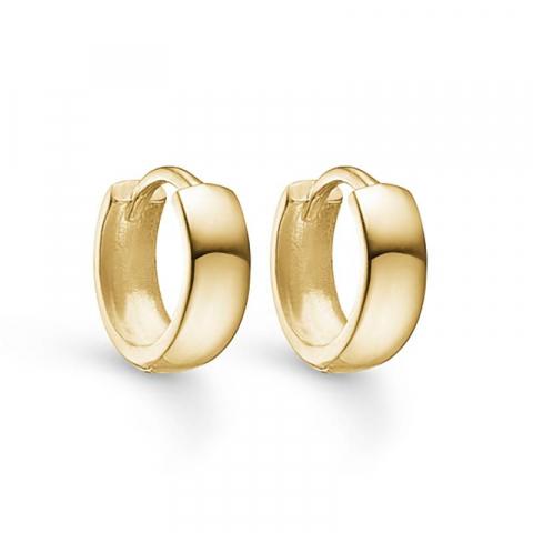 10 mm Støvring Design creoler i 8 karat guld