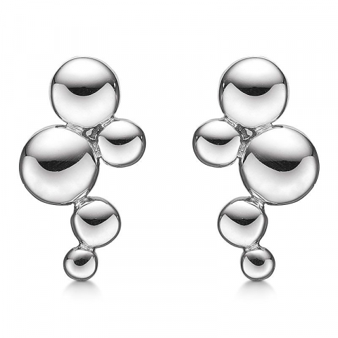 flotte Støvring Design cirkel øreringe i sølv