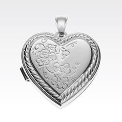 Medaljon i sølv