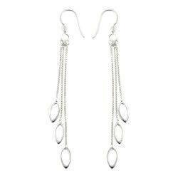 øreringe i sølv