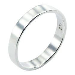 Pæn ring i sølv