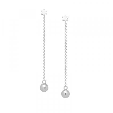 Billige ørehænger i sølv