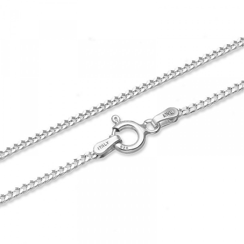Halskæde i sølv  x 1,5 mm