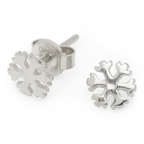 Yndige snefnug sølvørestikker i sølv