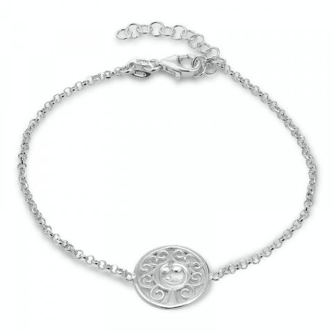 livets træ armbånd i sølv med vedhæng i sølv