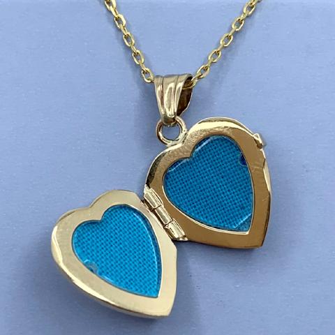 Guldmedaljon i 9 karat guld