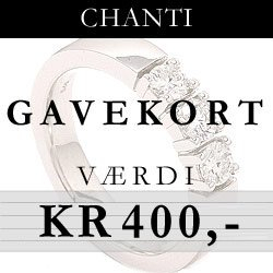 Gavekort til CHANTI.DK