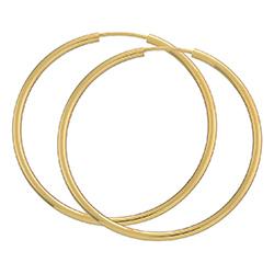 40 mm bnh creoler i 14 karat guld