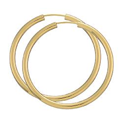 40 mm BNH Creoler øreringe i 14 karat guld