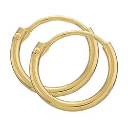 11 mm BNH creoler i 8 karat guld