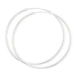 40 mm bnh creoler i sølv