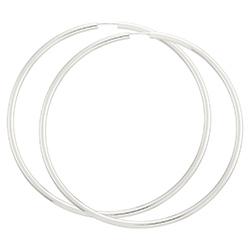 70 mm BNH creoler i sølv