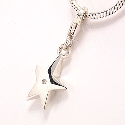 Sølv charms til armbånd i sølv