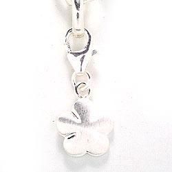 Charms vedhæng i sølv blomst