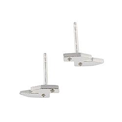RebekkaRebekka øreringe i sølv hvide zirkoner