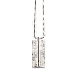RebekkaRebekka Halskæde med vedhæng i sølv hvid zirkon